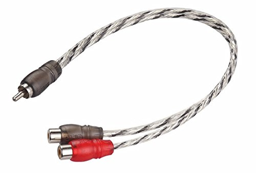 DS18 PRORCA1M2F 1 Female 2 Male RCA Splitter Cable