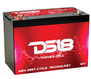 DS18 PC150 Car Audio AGM Deep Cycle Power Cell Battery 150Ah 4000 Watts