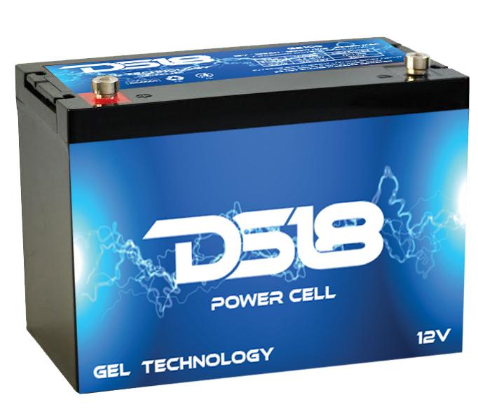 DS18 GB45 Car Audio Gel Power Cell Battery 45Ah 1200Watts