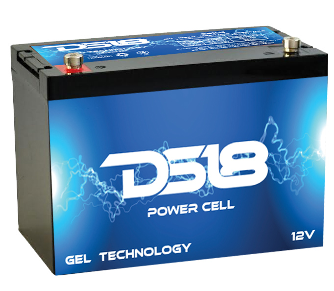 DS18 GB150 Car Audio Gel Power Cell Battery 150Ah 4100 Watts