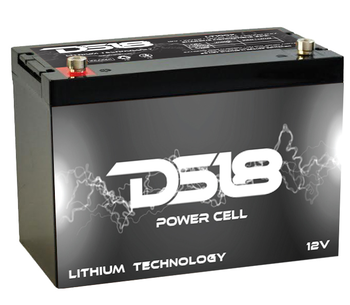 DS18 LT150X Car Audio Lithium Power Cell Battery 150Ah 4000 Watts