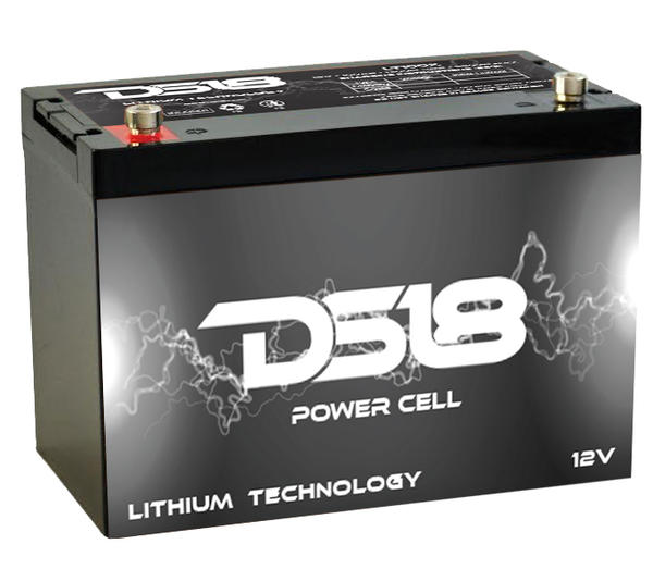 DS18 LT150X Car Audio Lithium Power Cell Battery 150Ah 4000 Watts Thumbnail 1