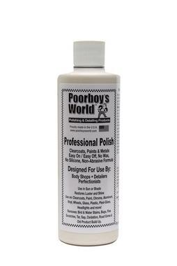 Poor Boys PB-PP16 Car Cleaning Valeting Professional Polish 473ml Thumbnail 1