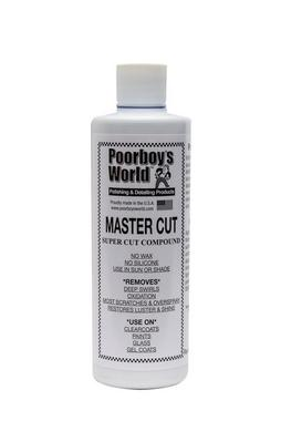 Poor Boys PB-MC16 Car Cleaning Valeting Polishing Wax Mastercut Compound 473ml Thumbnail 1
