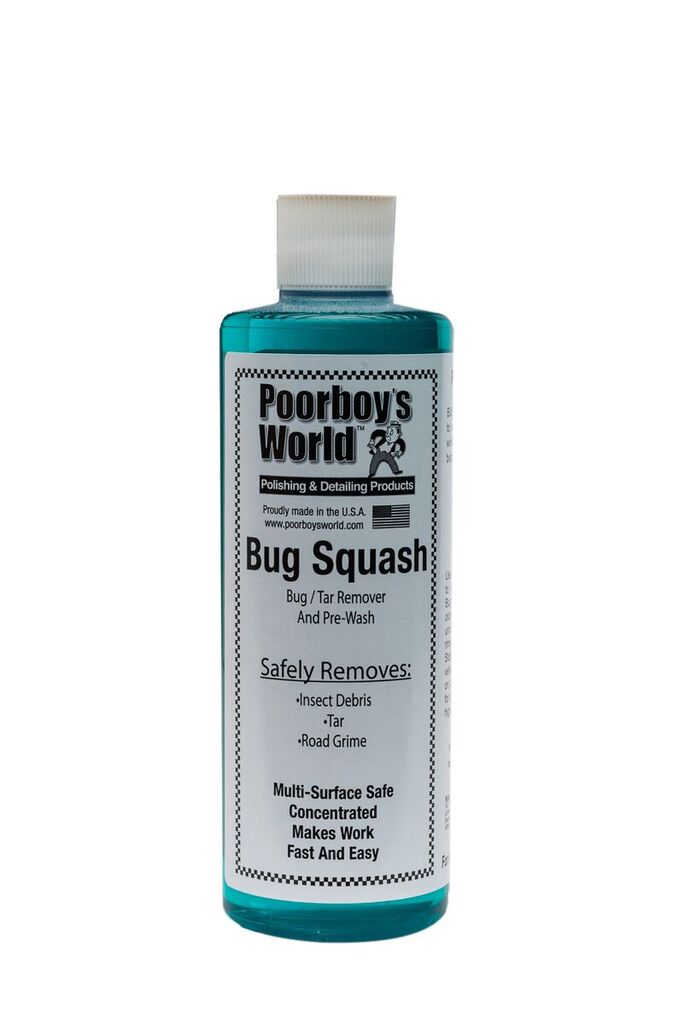 Poor Boys PB-BS16 Car Cleaning Valeting Polishing Wax Bug Squash 473ml