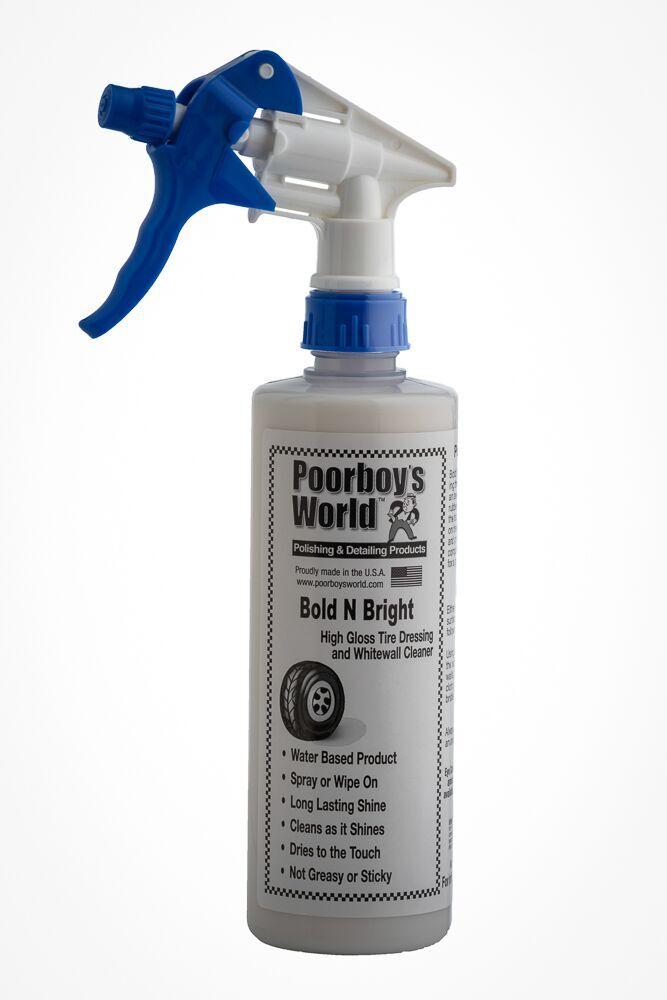 Poor Boys PB-BB16 Car Cleaning Valeting Polishing Wax Bold And Bright 473ml