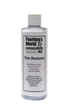 Poor Boys PB-TR16 Car Cleaning Valeting Polishing Wax Trim Restorer 473ml Thumbnail 1