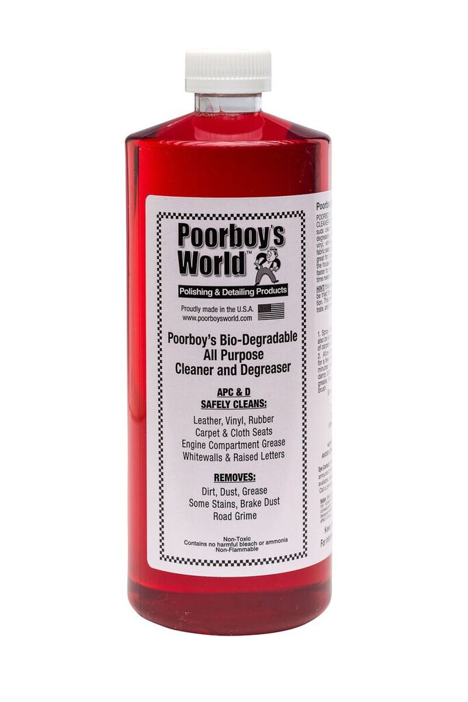 Poor Boys PB-APC32 Car Cleaning Valeting Polishing Wax All Purpose Cleaner 946ml