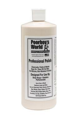 Poor Boys PB-PP32 Car Cleaning Valeting Professional Polish 946ml Thumbnail 1