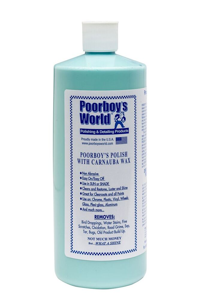 Poor Boys PB-PCB32 Car Cleaning Valeting Polish With Carnauba Blue 946ml