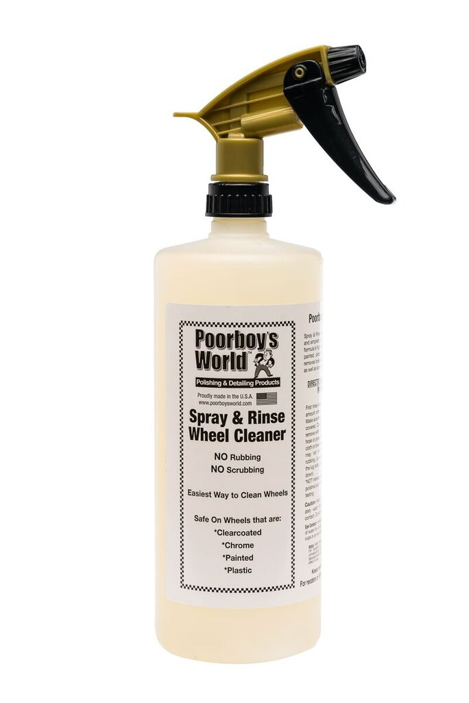 Poor Boys PB-SPR32 Car Cleaning Valeting Polishing Wax Spray And Rinse 946ml