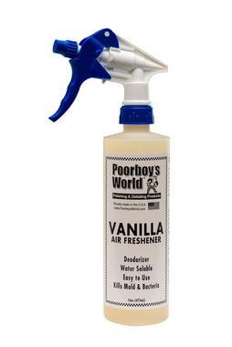 Poor Boys PB-AFV16 Car Cleaning Valeting Air Freshener Vanilla 473ml Thumbnail 1