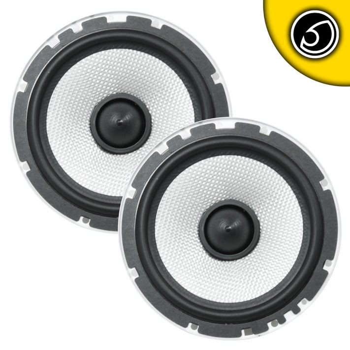 "Bassface SPL6M.2 6.5"" 16.5cm 600w 4Ohm Midbass Driver Car Door Speaker Pair"