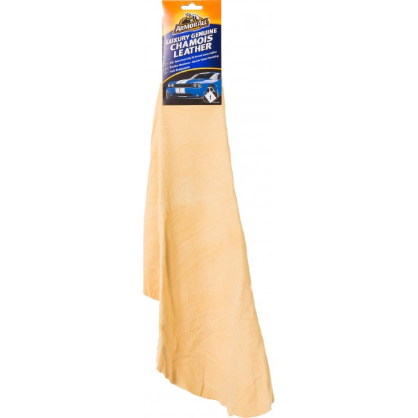 Armorall CLO40001EN Car Cleaning Small Squared Genuine Chamois Leather Single