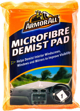 Armorall CLO40003EN Car Cleaning Detailing Interior Microfibre Demist Pad Single Thumbnail 1