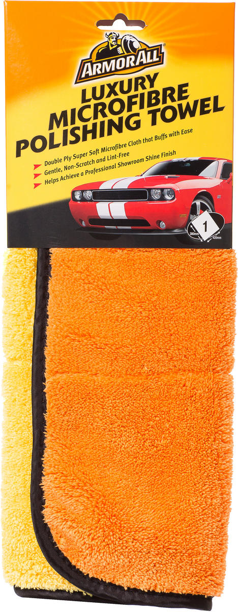 Armorall CLO40011EN Car Exterior Luxury Microfibre Cleaning Towel Single