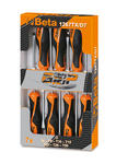 Beta 012670307 Automotive 1267 TX/D7 7 Piece Torx Screwdriver Pack