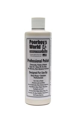 Poor Boys PB-PP16 Car Cleaning Valeting Professional Polish 473ml With Microfibre Thumbnail 1