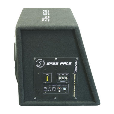 "Bassface POWER10.1 1000w 10"" Inch Active Car Sub Amp Amplifier Powered Bass Box Thumbnail 3"