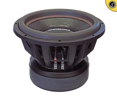 """Bassface XPL15.1SPL 15"""" Inch 38cm 10000w Subwoofer 0.7x0.7Ohm Extreme Sub Woofer Thumbnail 1"""