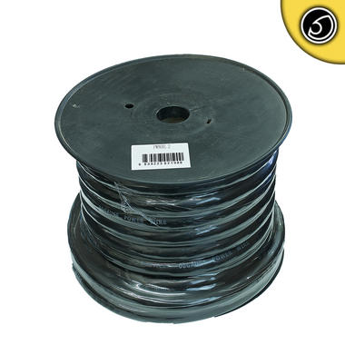 Bassface PWN00.2 CCA 00AWG 53mm+ Black Negative Wire Cable Spool 15m 5929 Strand Thumbnail 1