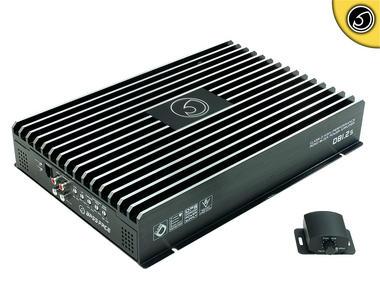 Bassface DB1.2s 3000w 1Ohm Class D Monoblock Car Woofer Amplifier Mono Sub Amp Thumbnail 1