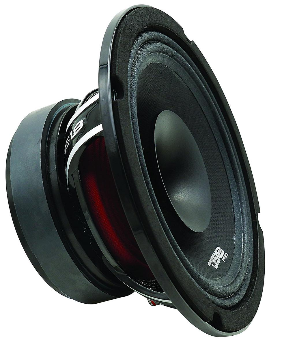 "DS18 PRO-HYBRID8 Car Audio 8"" 400 Watt Mid Range Coaxial Speaker Single"