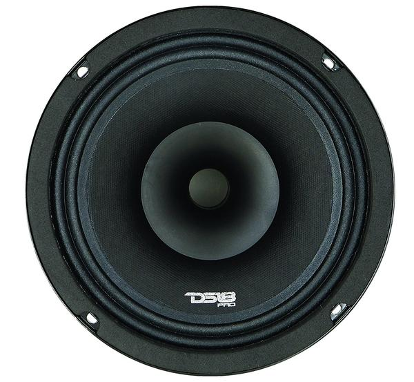 "DS18 PRO-HYBRID8 Car Audio 8"" 400 Watt Mid Range Coaxial Speaker Single Thumbnail 4"