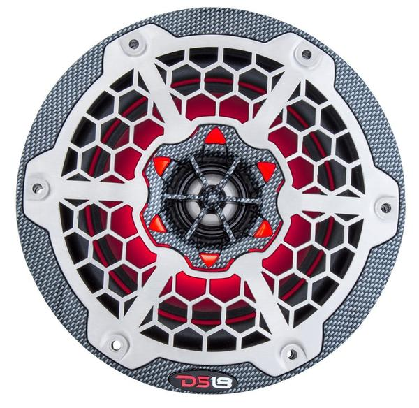 "DS18 CF65B High End Marine 6.5"" 375 Watts Carbon Fibre Coaxial Speakers Pair Thumbnail 6"