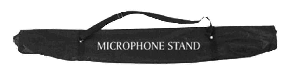 Pyle PSBGMSC Heavy Duty Zip Locked Durable Vinyl Microphone Stand Bag & Strap