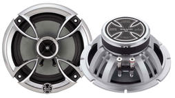 "Brand X High Power 6.5"" Coaxial Full Range 2 Way Car Door Shelf Speakers"