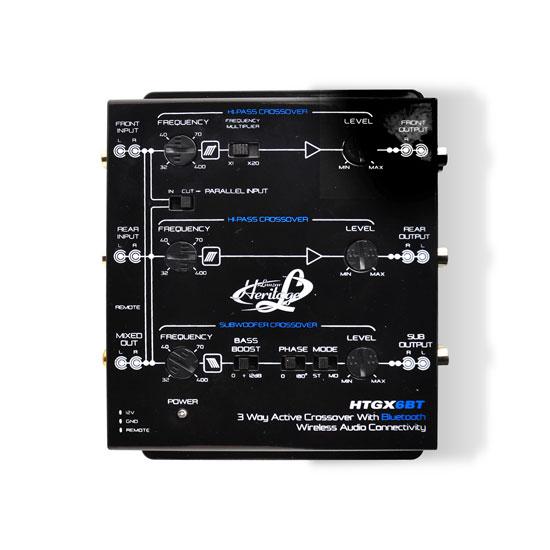 Lanzar HTGX6BT Heritage Series 3-Way Active Crossover X-Over 12v with Bluetooth | eBay