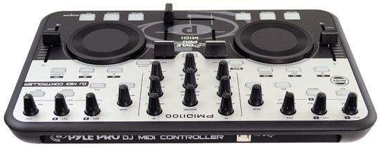 Midi Deck Controller Pmidi100 Midi dj Usb Deck