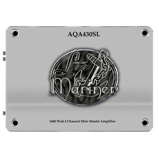 Lanzar Mariner Marine Audio Boat 4 Channel Stereo Speaker Amp Amplifier 1600w
