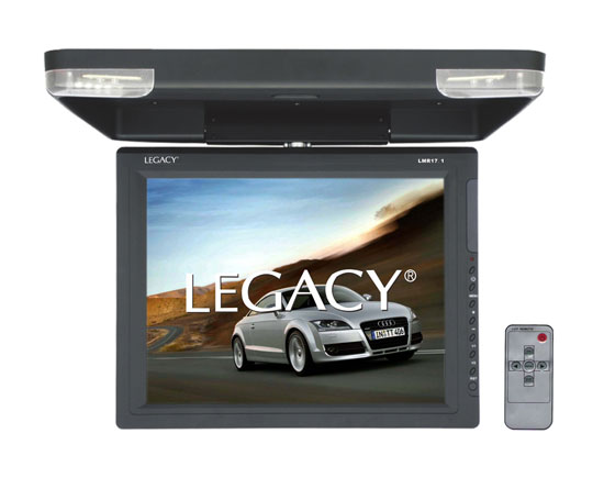 Legacy LMR17.1 Hi-Res 15.1-Inch Flip Down Roof Mount LCD Video Display Monitor