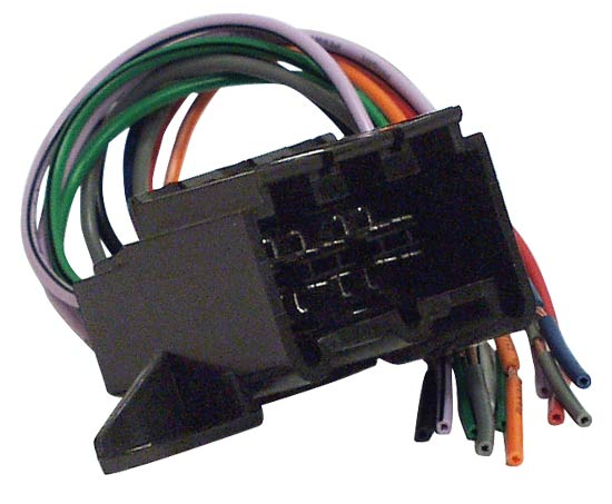 Pyramid MA8566 4 Speaker Bare ISO Wiring Harness Loom Lead Mazda 1989 Onwards