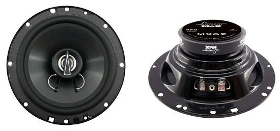 "Lanzar MAX 6.5"" 16.5cm 17cm 180w Coaxial Two Way Pair Car Door Shelf Speakers"