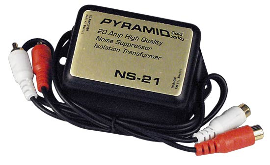Pyramid NS21 20 Amp In-Line Noise Suppressor Ground Loop Isolator Destroyer