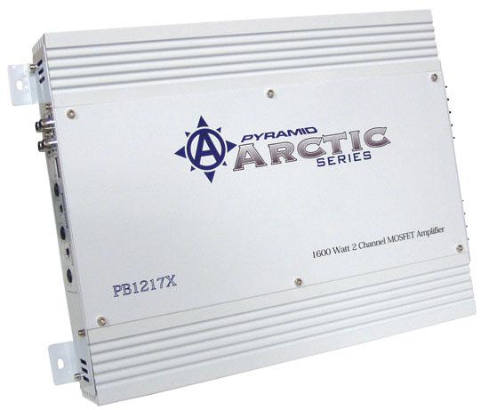 Pyramid Arctic 2 Ch Two Channel 1600w Bridgeable Car Speaker Amplifier Amp