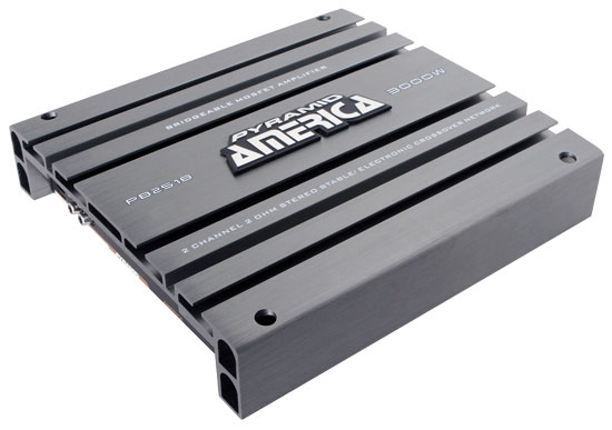 Pyramid PB2518 3000w 2 Two Channel Bridgeable Full Range Car Amp Amplifier