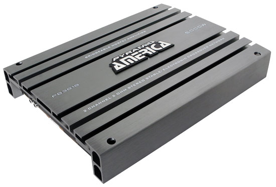 Pyramid PB3818 5000w 2 Channel Stereo Full Range Bridgeable Car Amplifier Amp