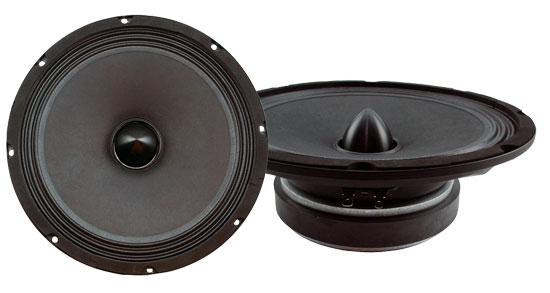 Pyle-Pro PBW8S 8'' 560w High Power High Performance Midbass Shallow Slim Mount