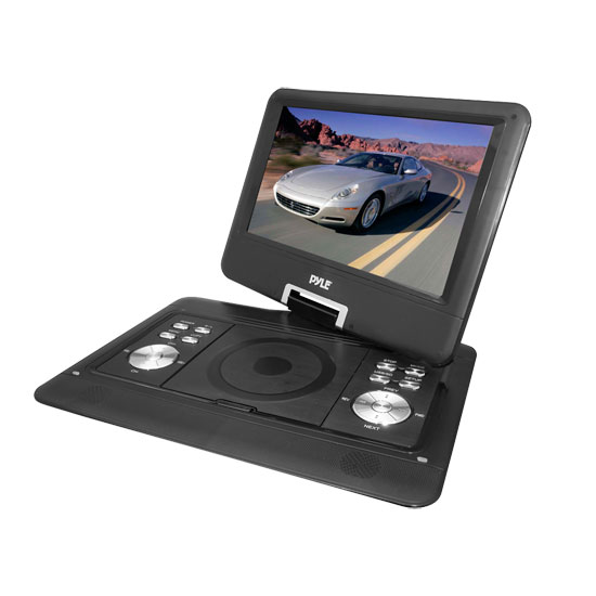 "Pyle-Home PDH14 14""Portable Tft/Lcd Monitor W/ Dvd"