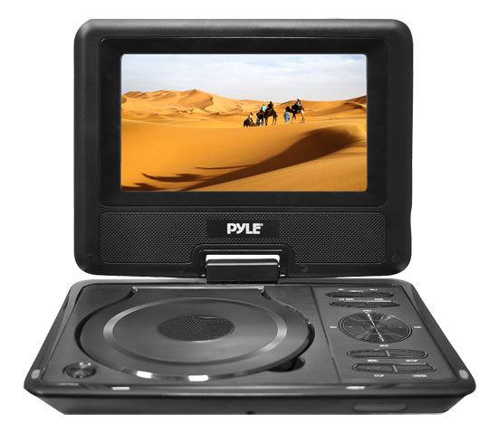 "Pyle-Home PDH9 9""Portable Tft/Lcd Monitor W/Dvd Player"