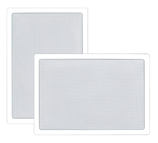 Pyle PDIW65 6.5'' Two-Way In-Wall Speaker System Pair White Ceiling Built-In