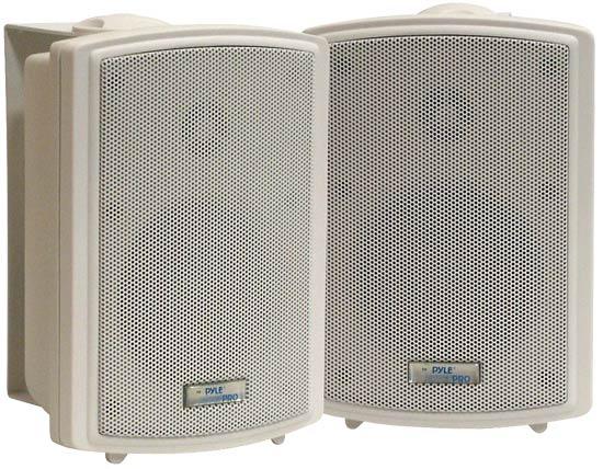 Pyle-Home PDWR33 3.5'' Indoor/Outdoor WaterProof Wall Mount Speakers