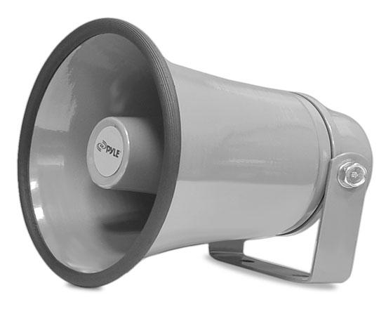 Pyle PHSP8K Water Resistant Indoor Outdoor 50w PA Tannoy System Horn Speaker