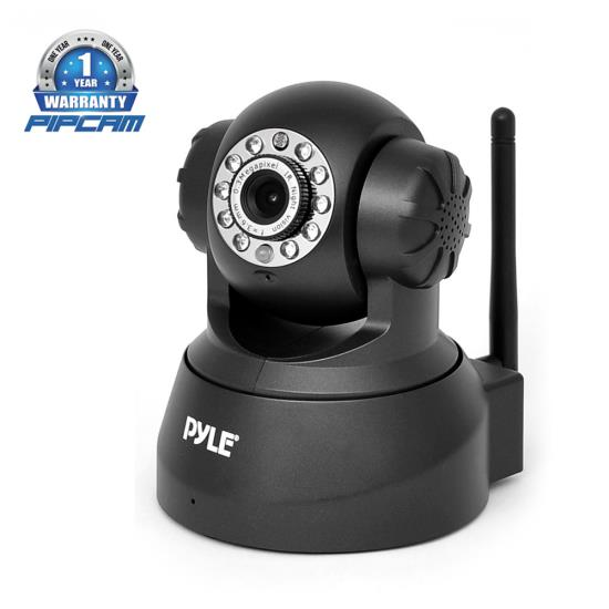 PYLE-HOME PIPCAM5 0.3 MP WIRELESS IP NETWORK CAMERA