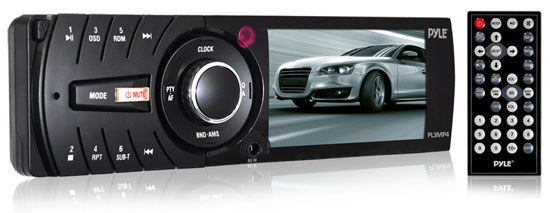 Pyle PL3MP4 3'' TFT/LCD Monitor MP3/MP4/SD/USB Player & AM/FM Receiver
