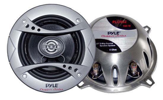 "Pyle Chopper 5.25"" 13cm 130mm 320w Car Door Shelf Two Way Coaxial Speakers Pair"